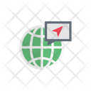 Global Direction Pin Icon