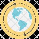 Global Navigation Technology Icon