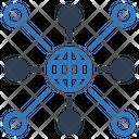 Network Scheme Connection Icon