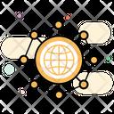 Global Network International Network Referral Network Icon