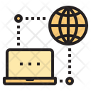 Global Access Global Connection Access Icon