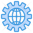 Globalization Global Network Internet Icon