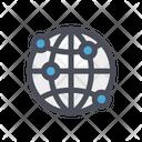 Connectivity Internet Sync Icon