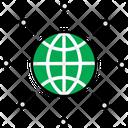 Global Network Global Network Network Icon