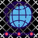 Global Network Www Web Network Icon