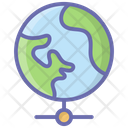 Global Network Shared Network Internet Connection Icon