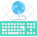 Global Network Globe Internet Icon