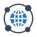 Network Global Connection Icon