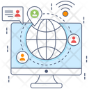Global Network International Network Referral Network Icon