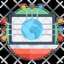 Global Network Worldwide Network Affiliate Network Icon
