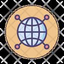 Global Network Global Network Icon