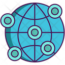 Global Network Icon