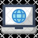 Education Globe Laptop Icon