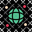 Global World Internet Icon