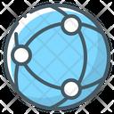 Network Globe Communication Icon