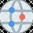 M Global Network Global Network Global Networking Icon