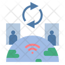 Communication Network Wifi Icon