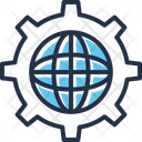Global Network Gear Global Icon