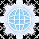 Global Network Gear Global Icon