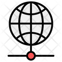 Global Network Worldwide Network Global Network Sharing Icon