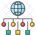Network Global Sharing Icon