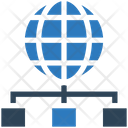 Global Network Network Connections Icon