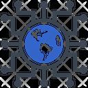Network Hub Link Icon