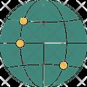 Global Network Globe Network Icon
