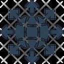 Seo World Globe Icon