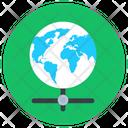 Shared Global Network Global Network Global Connection Icon