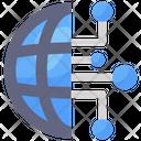 Global Network Affiliate Network Worldwide Network Icon
