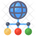 Global Network Global Connection Networking Icon