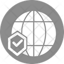 Global Network Cyber Security Network Security Icon