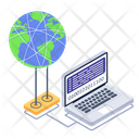 World Network Global Network Network Technology Icon