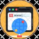 Global Website Web Browser Global Web Icon