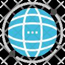 Global Network Communication Icon