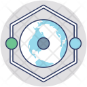 Global Network Connectivity Icon