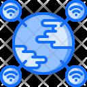 Global Network Earth Icon