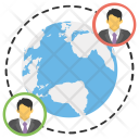 Global Community Network Icon