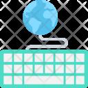 Global Network Keyboard Icon