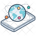 Global Connection Global Network Globalization Icon