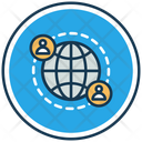 Global Networkglobal Icon