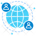 Global Networkglobal Network Connectivity Icon