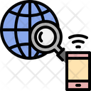 Smartphone Global Earth Icon
