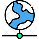 Global Connection Global Server Hosting Infrastructure Icon