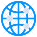 Global Networking Global Connections Worldwide Network Icon