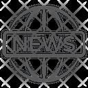 Global Media Global News International News Icon