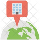 Internationalization Global Office Icon
