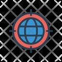 Optimization Global World Icon