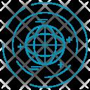 Global Globe World Icon